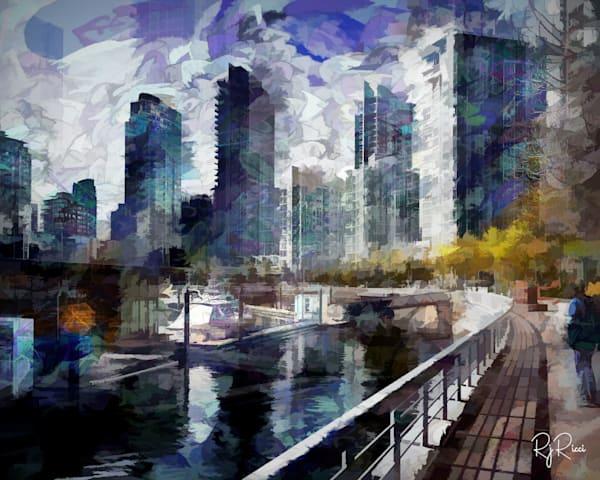 River Path Art   R.j.Ricci Art