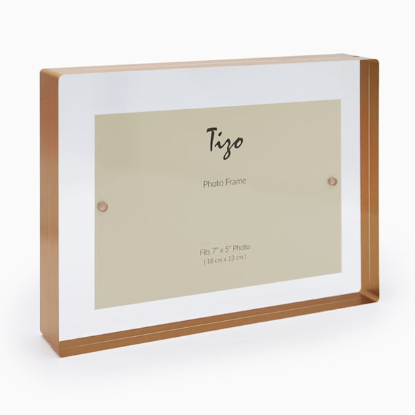 5x7 Gold Acrylic Block Frame