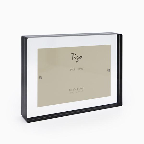 4x6 Black Acrylic Block Frame