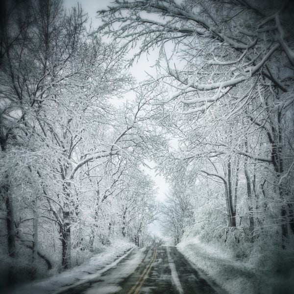 A Winter Drive Home Art | Mark Stall IMAGES
