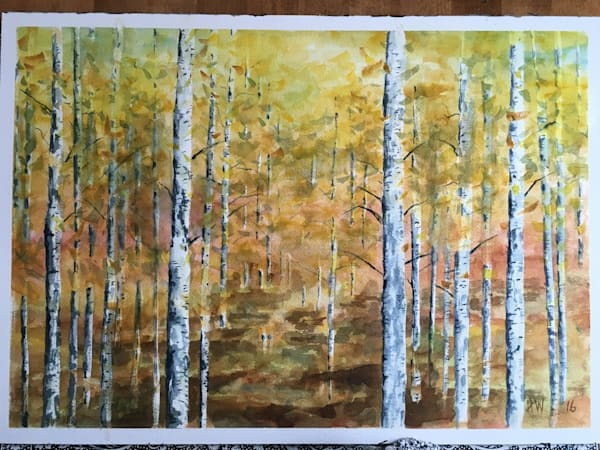 Aspens notecards