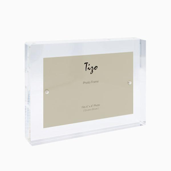 4x6 Clear Acrylic Block Frame