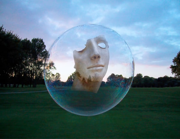 Man In The Bubble Art | Mark Stall IMAGES