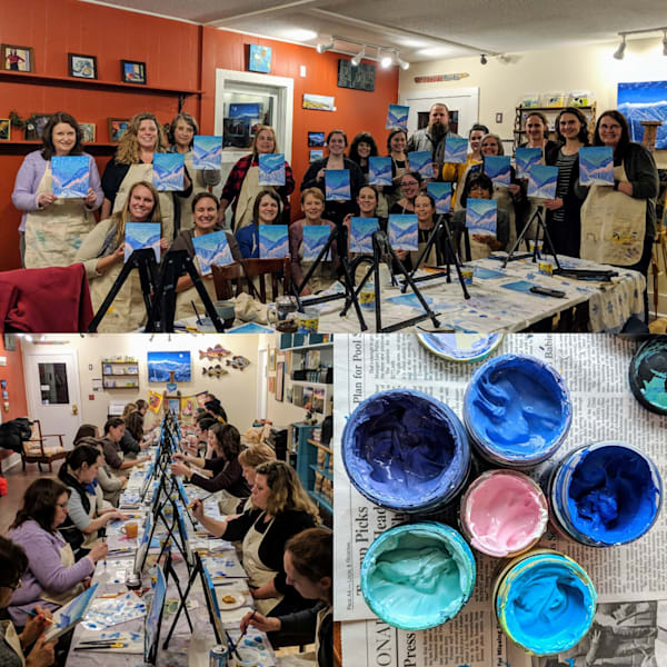 Private Paint Night Class
