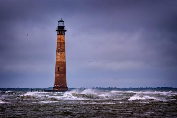Storm at Morris Island Light | Shop Photography by Rick Berk