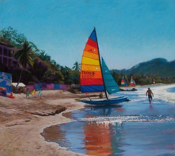 Ready To Sail  Art | Waif Mullins Art