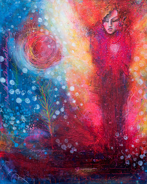Courage To Change, Original Painting Art | Jessica Hughes Fine Art