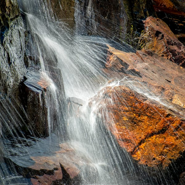 The Rock - Glen Alpine Falls