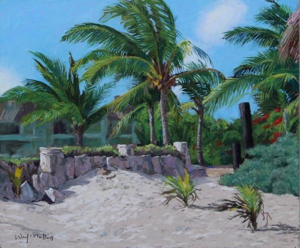 Akumal Bay Beach Resort Art | Waif Mullins Art