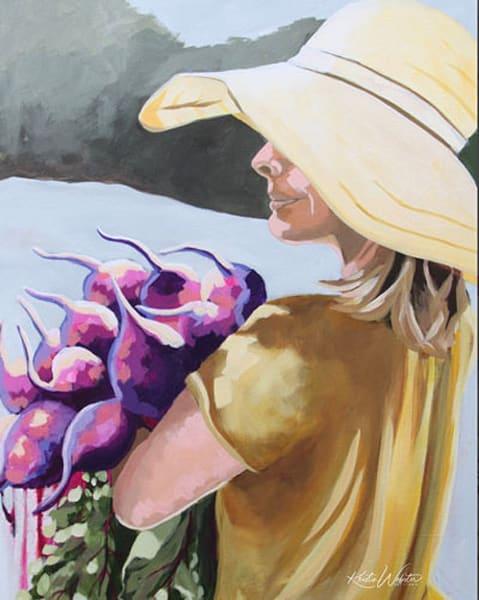 Beet Bouquet Art | Kristin Webster Art Studio