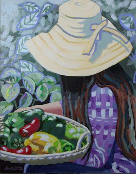 Pepper Platter Art | Kristin Webster Art Studio