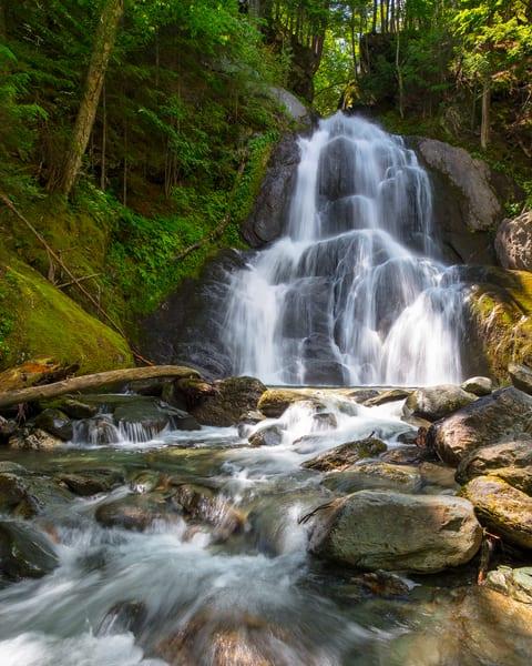 Summer Break at Moss Glen Falls