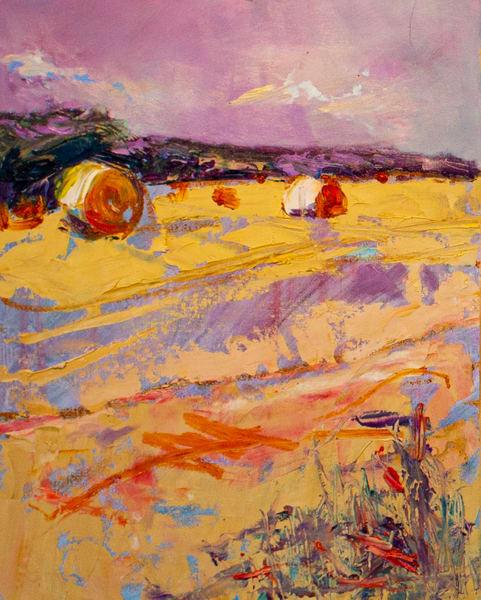 Lavelle Fine Artist | Hay Bales