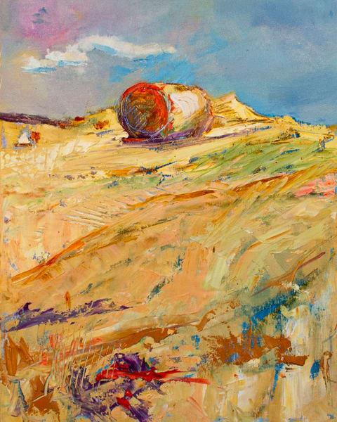 Lavelle Fine Artist | Hay Bales II