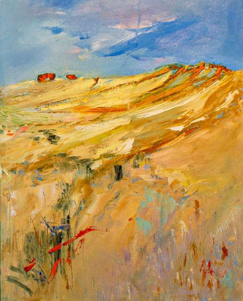 Lavelle Fine Artist | Hay Bales III