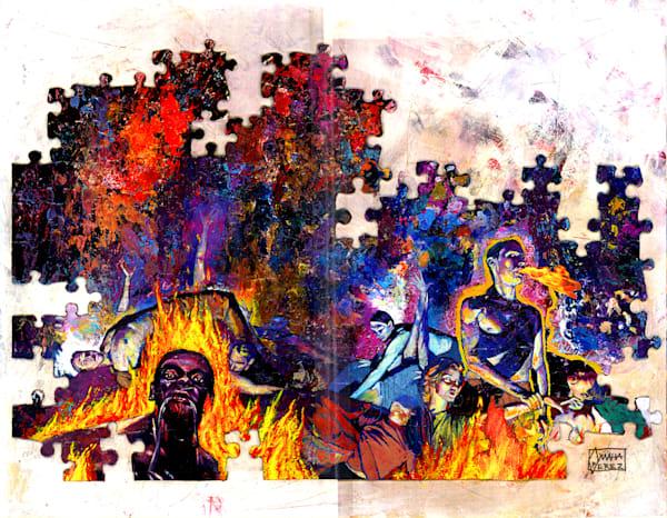 Puzzled 01 Art   Omaha Perez Art