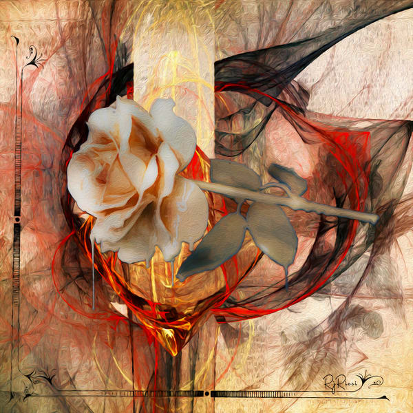 Bleeding Rose Art | R.j.Ricci Art