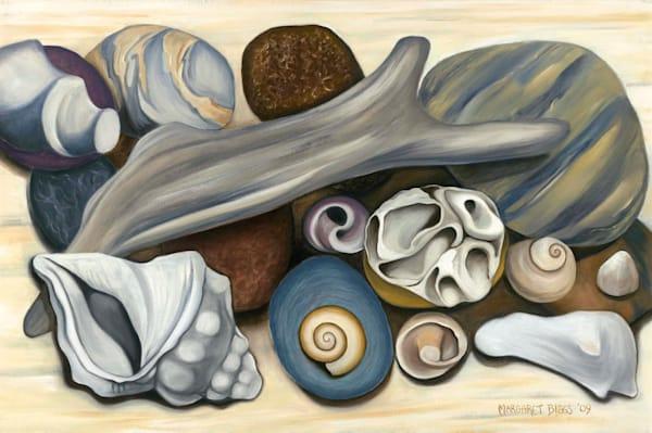 Beach Gatherings Art   Margaret Biggs Fine Art