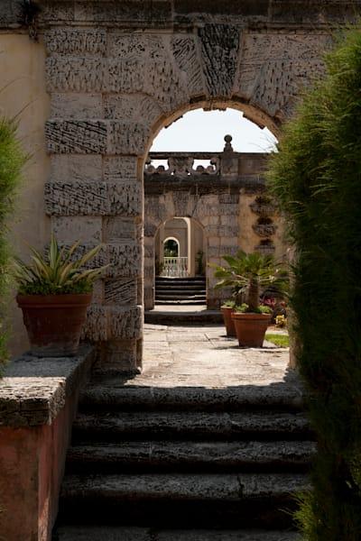 Archway at Vizcaya Garden