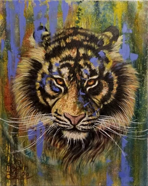 Tiger 1   Original Painting | Bjorn Brondsted