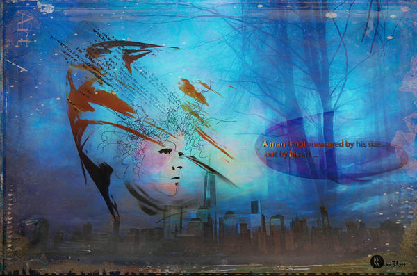 A Man Art Is Art 2 Art | R.j.Ricci Art