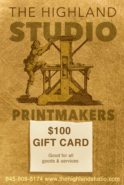 Gift Card $100 | The Highland Studio, Inc