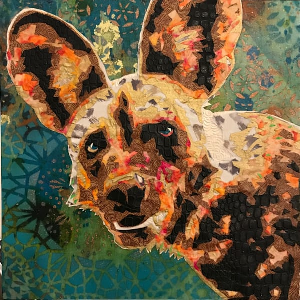 African Wild Dog Art   Kristi Abbott Gallery & Studio