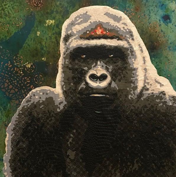 Silverback Gorilla Art   Kristi Abbott Gallery & Studio