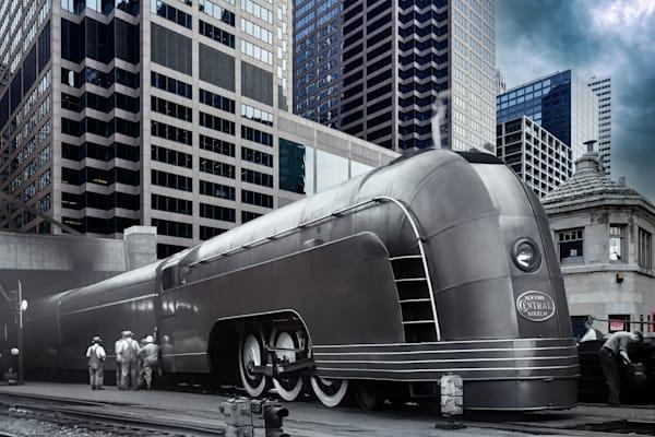 Mercury Train Leaving Chicago Art | Mark Hersch Photography