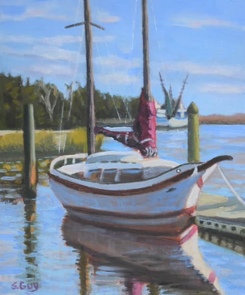 Dockside   Original Art | Sharon Guy