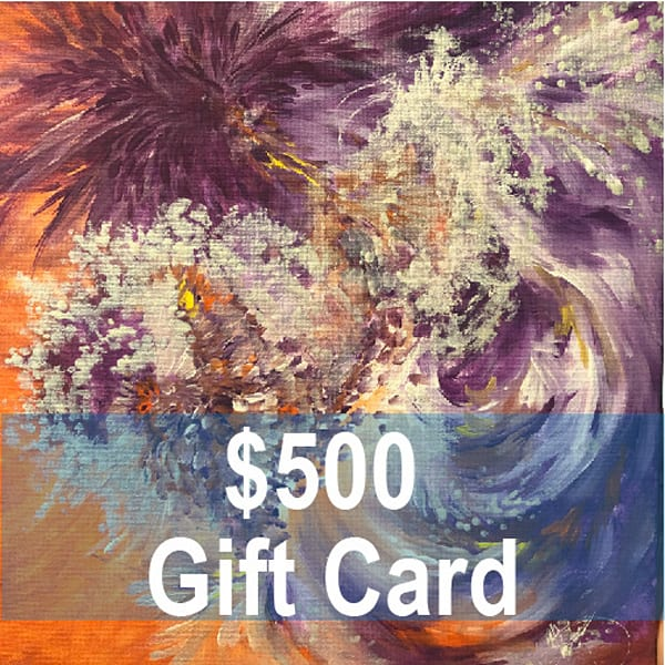 500 Gift Card | Christy! Studios