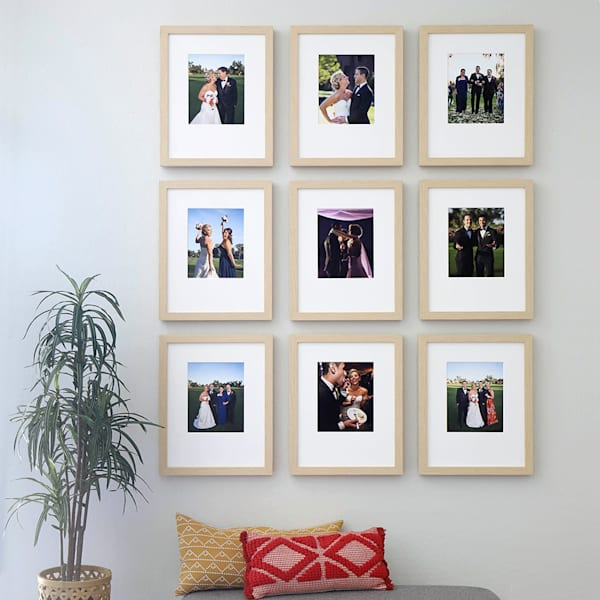 Nine Frame 8x10 Gallery Wall