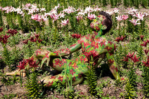 2013 Lily Field Switzerland Art | BODYPAINTOGRAPHY