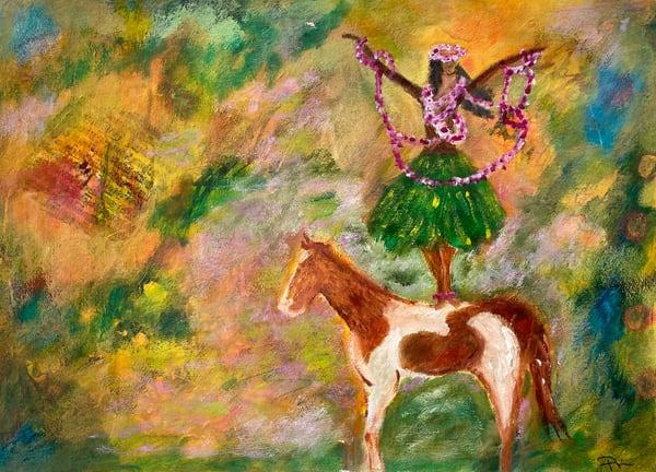 Hula Horse 2  Art | paigedeponte