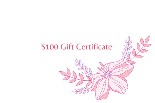 $100 Gift Card | Mina Vancardo