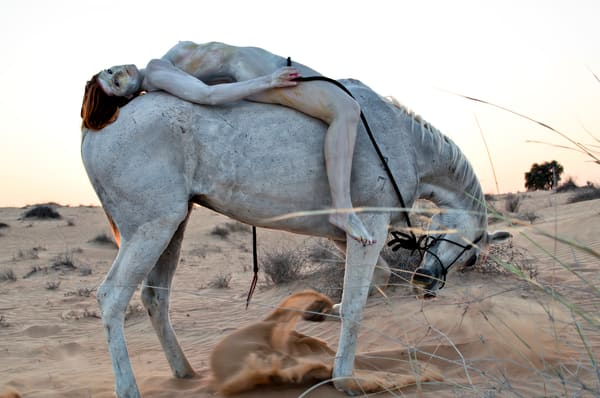 2012  Arabian Horse Art   BODYPAINTOGRAPHY