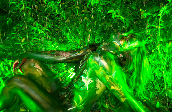 2012  Cafeina.Greens  Florida Art   BODYPAINTOGRAPHY