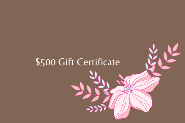 $500 Gift Card | Mina Vancardo