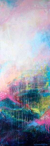 Face Towards The Light, Original Painting Art   Jessica Hughes Fine Art