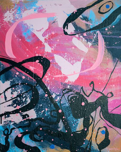 Hummingbird, Original Painting Art   Jessica Hughes Fine Art