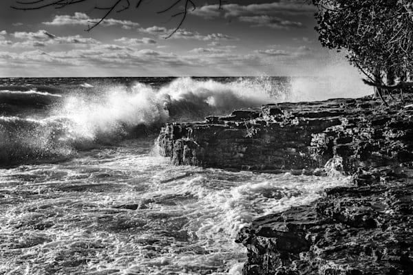 Cave Point W 0555 Photography Art | Larson Fine Art Photography