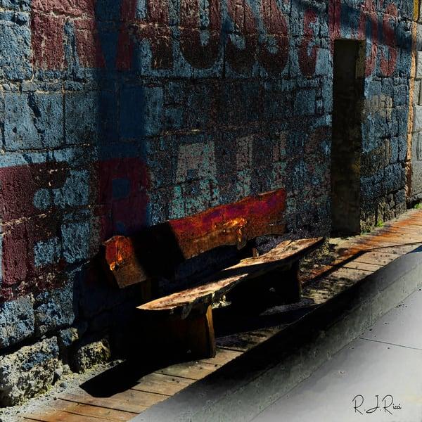 Minden Bench Art | R.j.Ricci Art