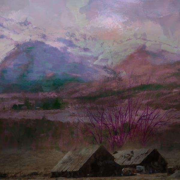 Flaming Barn Art | R.j.Ricci Art