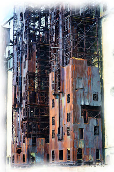 Old Buildings 1 Art | R.j.Ricci Art