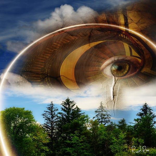 Mountain Eye 2 Art | R.j.Ricci Art