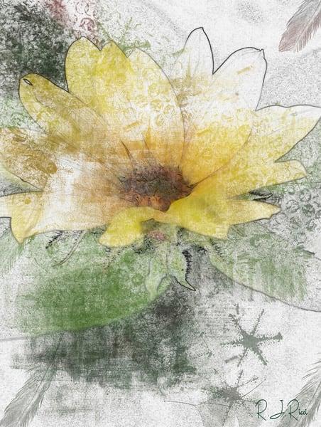 Sunflower  Art   R.j.Ricci Art
