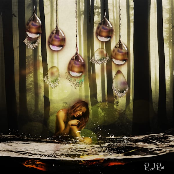 Water Girl Art | R.j.Ricci Art