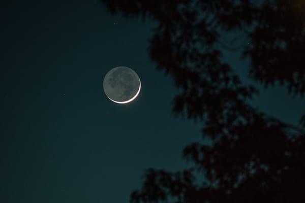 Carolina Blue Moon Photography Art | Austin Marvel