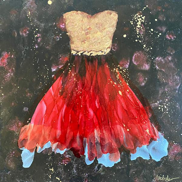 Amour Du Rouge Art | Michele Harmon Art