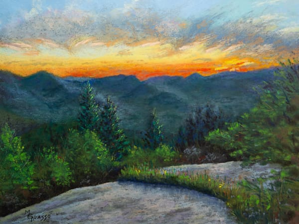 High Peaks Sunset Art | Mark Grasso Fine Art